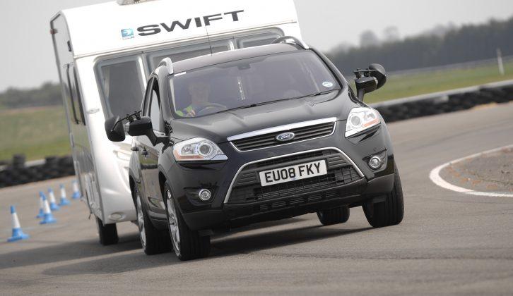 Practical Caravan's tow car guru tests the Ford Kuga 2.0 TDCi Titanium