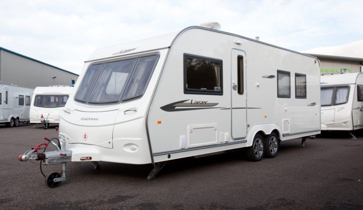 Practical Caravan's experts give their verdict on the 2010 Coachman Laser 650/4 four-berth single-axle caravan, with its 6ft long fixed double bed