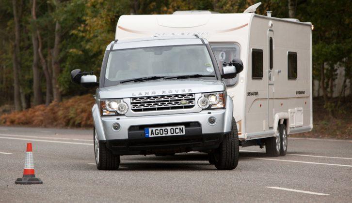Practical Caravan reviews the Land Rover Discovery 4 3.0 TDV6 HSE