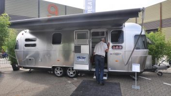 2013 Model Hymer Nova 465 as seen at the Motorhomes and Caravans Show