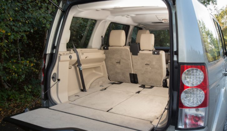 Practical Caravan's tow car experts review the Land Rover Discovery 4 3.0 SDV6 HSE