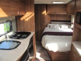 The 2014 Elddis Affinity 540 is a fixed bed four-berth, as the Practical Caravan review explains