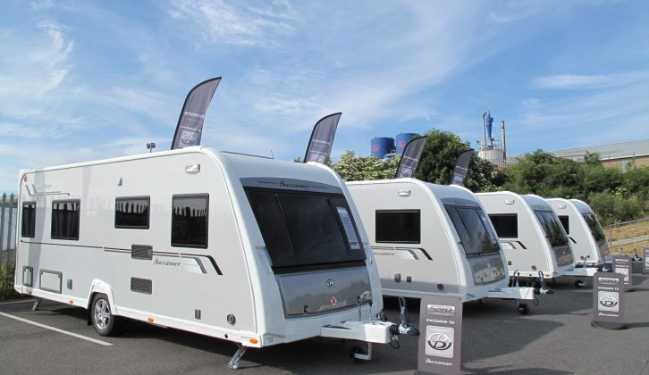 New and improved for 2014, it's Buccaneer's Fluyt model, reviewed by the expert team at Practical Caravan