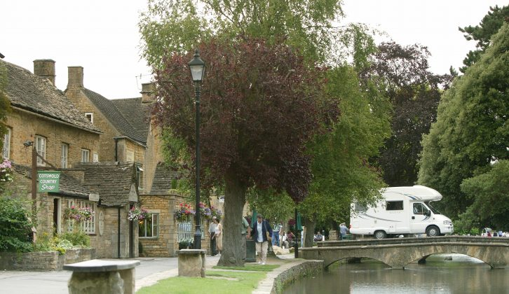 There are lots of places to visit in the Cotswolds, such as pretty Bourton-on-the-Water with its honey-coloured cottages