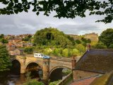 Visit Richmond's ancient castle and beautiful Georgian houses during your caravan holidays in North Yorkshire