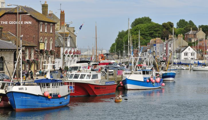 Practical Caravan's travel guide recommends a trip to Weymouth during your caravan holidays in Dorset