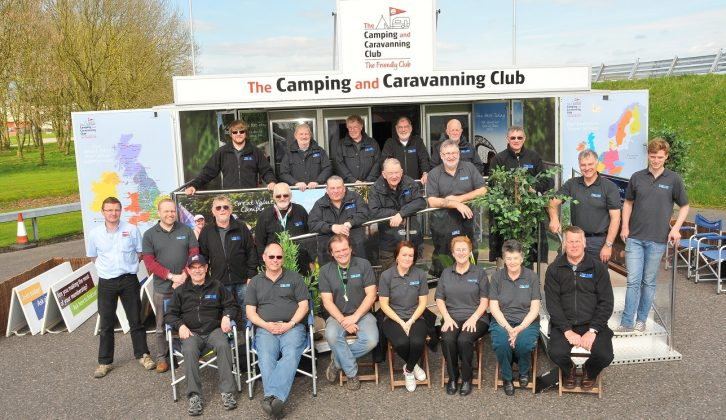 The Practical Caravan Tow Car Awards wouldn't be possible without a team of volunteers from The Camping and Caravanning Club