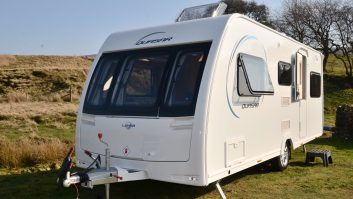 Despite being only 2.21m wide, the Lunar Quasar 525 impressed Practical Caravan's reviewers with its spaciousness and layout