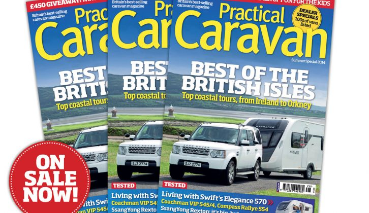 Welcome summer with the 2014 Practical Caravan Summer Special