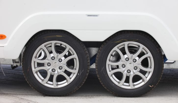 Scorpion alloy wheels are new across the entire Swift range for 2015