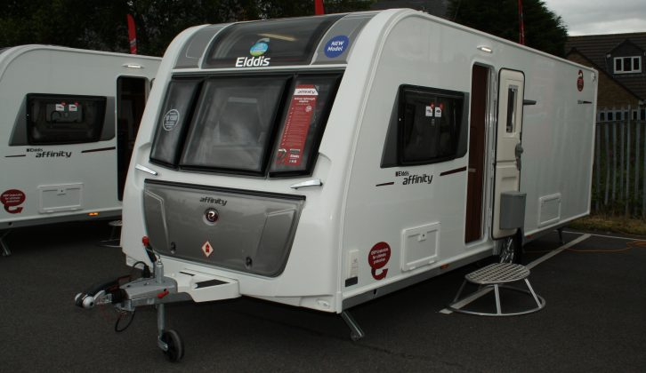 The luxury of the new island bed Elddis Affinity 554 might be just what lucky lady Louise wants for her first caravan