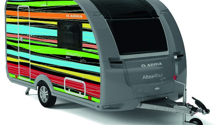 Design your own caravan with Adria – learn more about the brand's 50th birthday celebrations at the NEC Birmingham