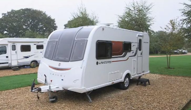 Our Tourer of the Year 2015 is the Bailey Unicorn Seville
