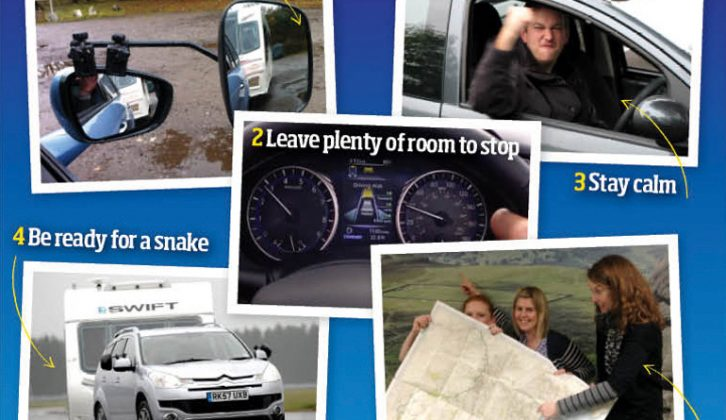 Be a better tow car driver this winter with Practical Caravan's top tips