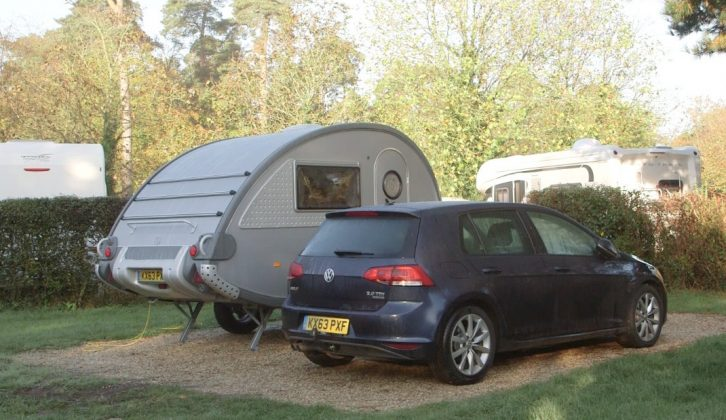 Staying at Sandy Balls in a T@B, Practical Caravan's Clare Kelly is exploring the New Forest in our latest TV show