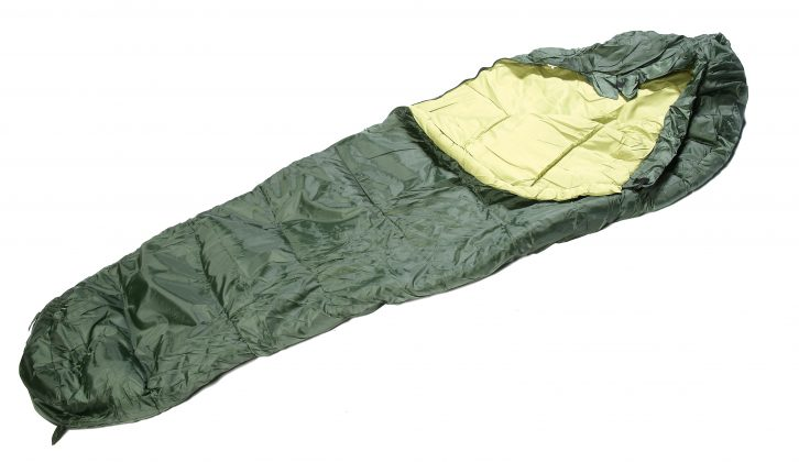 One of the best cheap sleeping bags on the market is the £20 Regatta 300gsm Single Mummy Sleeping Bag from Argos, as our reviewer discovers