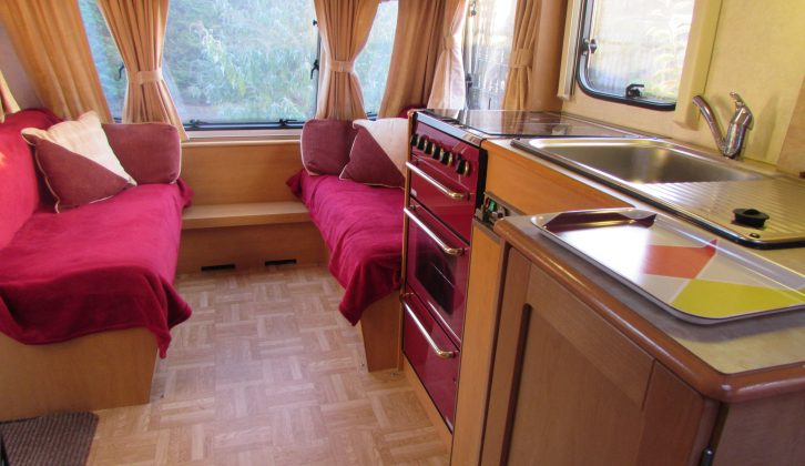 A few snuggly throws and cushions can make your caravan feel even more special and welcoming