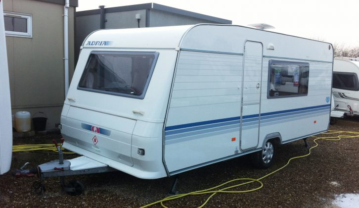 This 2007 Adria Altea 502 DK, priced at a palatable £5990, appealed – and there are many such bargain used caravans for sale