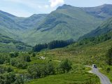 It's best to take caravan holidays in The Scottish Highlands from late spring to early autumn, because in the winter some of the roads may be closed