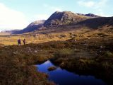 If Ben Nevis is too daunting, go walking in the Torridon Hills, Wester Ross and Cromarty District in the north-west of The Highlands