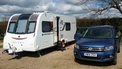 The Le Caplain clan decided to visit Kent at Easter and enjoyed the kind of weather you dream of for your caravan holidays
