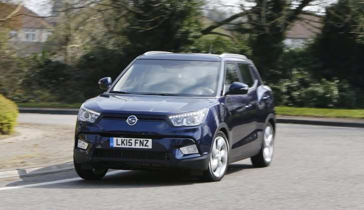 We've already previewed the SsangYong Tivoli and look forward to finding out what tow car ability it has