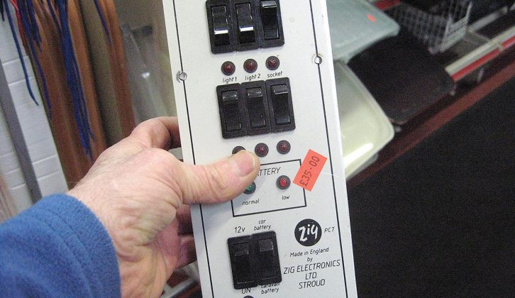 If you own an older caravan and need to replace an obsolete control panel, the Caravan Centre is a breaker to check