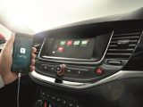 A new generation IntelliLink infotainment system will be available on the new Vauxhall Astra