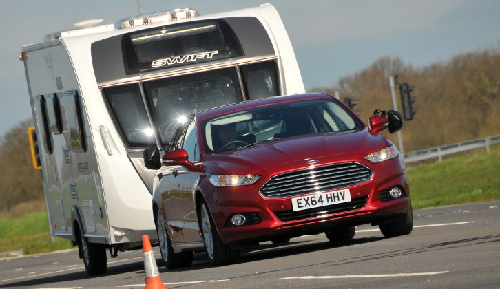 The best tow cars aren't always diesel, as this Ford Mondeo proved