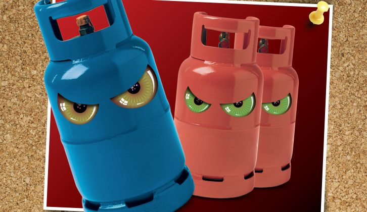 Practical Caravan columnist Martin Roberts hates gas cylinders – read his blog to find out why
