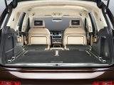 Kit levels are high in the Audi Q7 and all five rear seats fold flat to create a vast load area