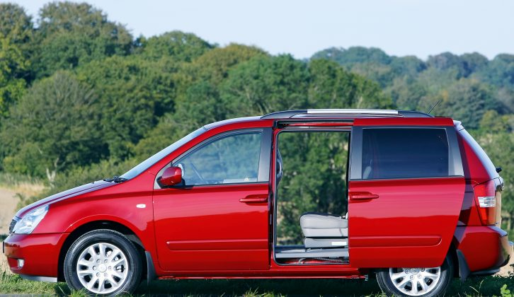 When new, the Kia Sedona performed well in our 2010 Tow Car Awards, so we know what tow car ability it has