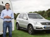 Practical Caravan's Tow Car Editor David Motton tests the SsangYong Rexton W