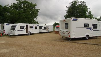 Here you can see (from left to right), the Coachman Vision 570, the Vision 575 and the Vision 450