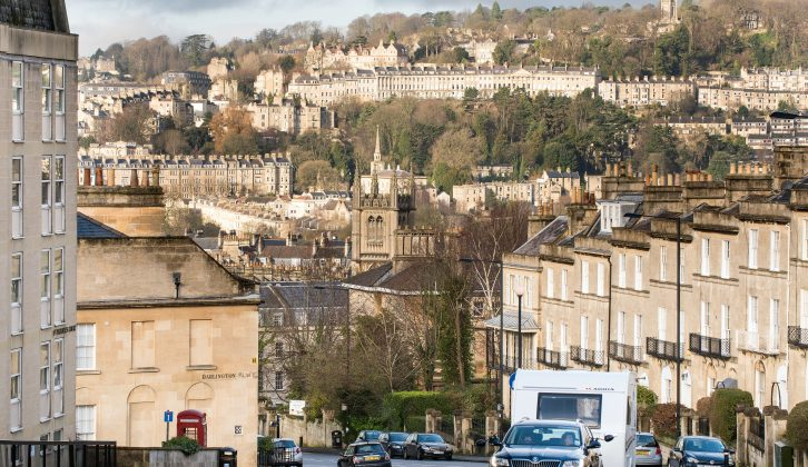 Bryony Symes and Clare Kelly take in the sights in Bath