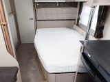 The inviting French bed comes with a Duvalay mattress
