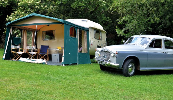 This rare 1960s Stirling caravan was beautifully built by hand