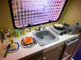 Dinner is served, Lego style, at the Motorhome and Caravan Show 2015
