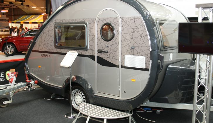 Here's the new, stylish Metropolis scheme being launched for T@B caravans for 2016