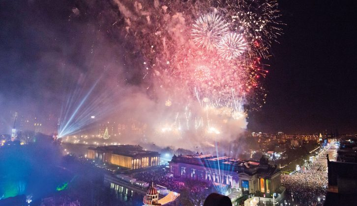 Enjoy some traditioal fun this winter, from the Bodmin Wassail to Edinburgh's Hogmanay fireworks
