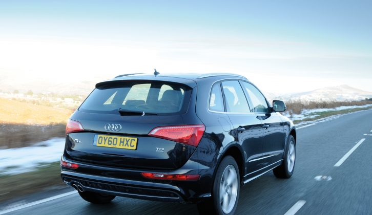 When launched in 2008, there were two diesel and two petrol engines available in the Audi Q5 range