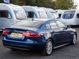 The Jaguar XE proved to be a good tow car, but not that practical – read more in our expert's review