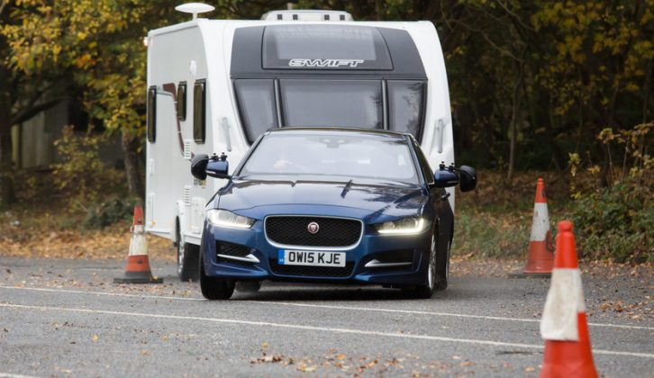 Find out how Motty got on when he took the new Jaguar XE for a quick tow car test