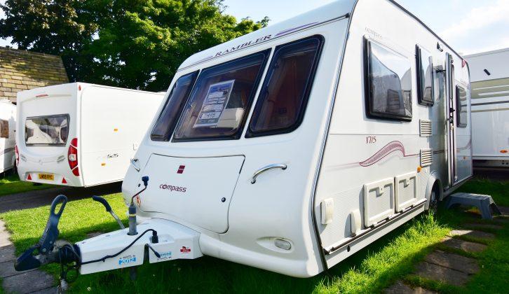 Dealer specials often start as entry-level caravans, then evolve – like this 2007 Compass Rambler
