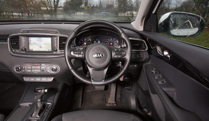 The automatic gearbox is slick, while this mid-range KX-2 spec, bringing sat-nav, leather seats, dual-zone climate control and more, is great value for money