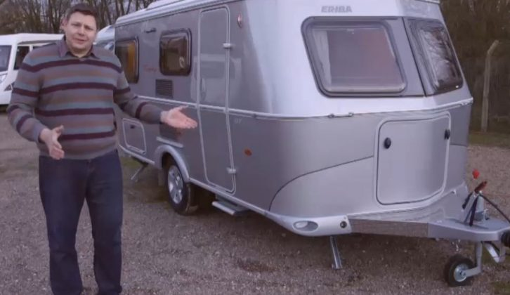 Our Group Editor can't help but love this Eriba caravan – watch and see if you agree!