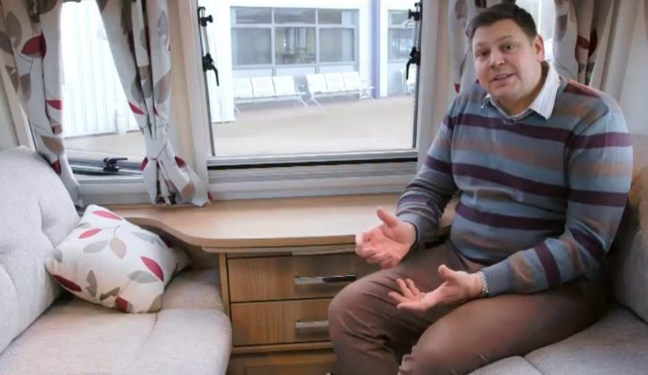 Practical Caravan's Alastair Clements discovers how easy it is to get comfortable in the Bailey Pegasus Rimini