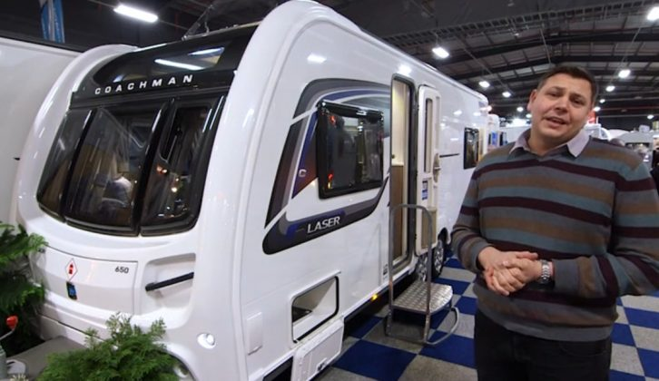 Priced north of £26,000, the Coachman Laser 650 isn't cheap, but you get a lot for your money, as we discover in our latest TV show