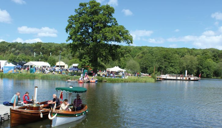 Modern craft mix with wooden boats at Beale Park Boat & Outdoor Show from 3-5 June