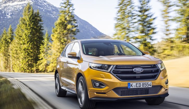 The Ford Edge is the Blue Oval's new, top-of-the-range SUV, priced from £29,995 and available now